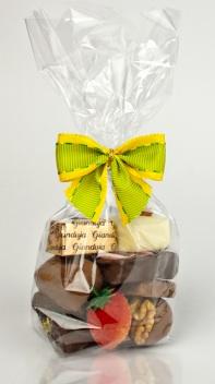 Schokoladena Pralinen und Trüffel mit Aufdruck